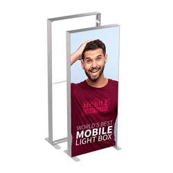 MT Light Box 85 x 240 cm m. 2 stk. banner