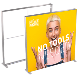 MT Light Box 200 x 200 cm m. 2 stk. banner