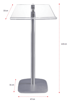 Flick Menu Stand - for A4