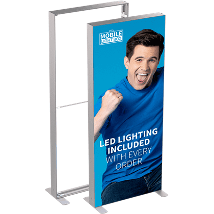 MT Light Box 100 x 250 cm m. 2 stk. banner