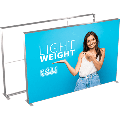 MT Light Box 300 x 240 cm m. 2 stk. banner