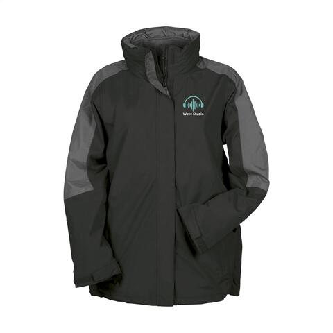 Regatta Defender III 3-in-1 Jacket damejakke, 1- farvet logo